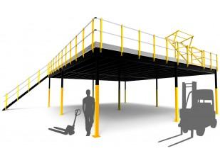 Entreplanta Desmontable 120 m2