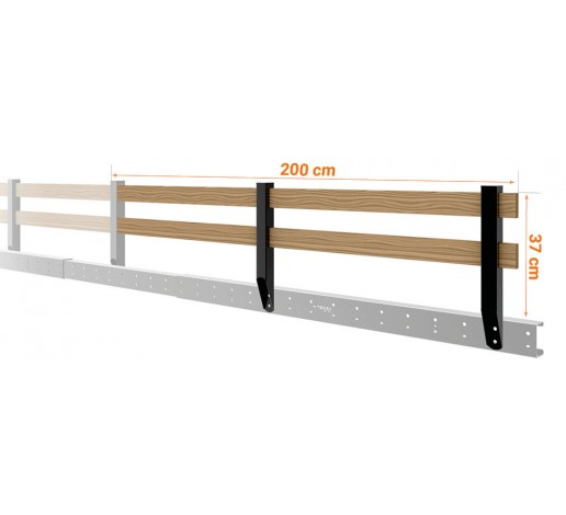 Loft Bed Railing Extension